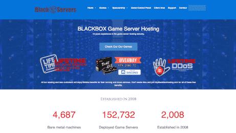BlackBoxServers.com Logo