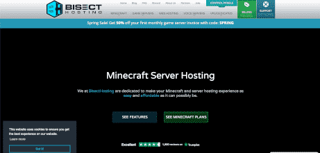 BisectHosting Logo